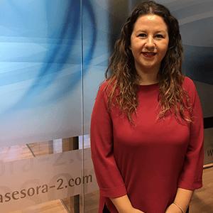 Cristina Jiménez, responsable de administración en Asesora2